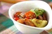 ソーセージとアボカドのサラダ