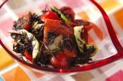 ヒジキとランチョンミートのサラダ