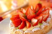 イチゴのダコワーズ