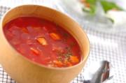 すりおろしトマトスープ