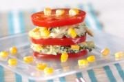 ゴーヤとトマトのサラダ
