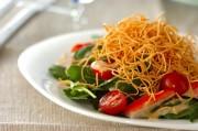パリパリ素麺のサラダ