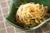 ピリ辛豆モヤシ