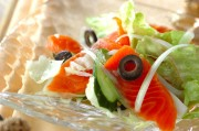 鮭のサラダ
