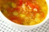 玄米と野菜のスープ
