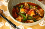 豚肉とキムチのトロミ煮