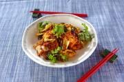 コンビーフの中華スタミナ炒め