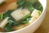長芋のスープ