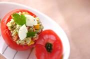丸ごとトマトのライスサラダ