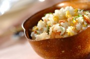 鮭と卵の混ぜご飯