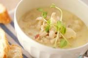 タラのホワイトスープ
