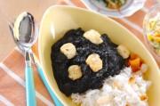 豆腐の黒カレー