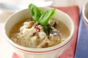 鯛とキノコの雑炊