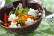 大根とチーズのサラダ