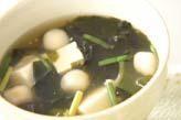 豆腐の薄トロ~ン汁