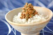 みそ納豆ご飯