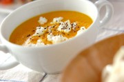 冷製ニンジンスープ
