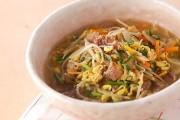 たっぷり豆モヤシのスープ煮
