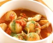 小さい玉ネギのスープ