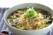 鶏スープ丼