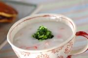 カブのライススープ