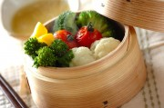 蒸し野菜チーズソース