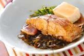 鯛と豆腐の煮物