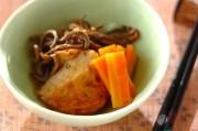 ゼンマイとさつま揚げの煮物