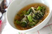 ブロッコリーとホタテのトロミ煮
