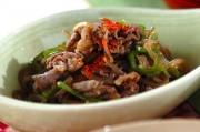 牛肉と糸コンの佃煮