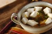 ふわふわハンペンのキムチスープ