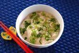 タラコ豆腐汁