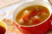 プチトマトのコンソメスープ