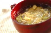 葛きり入り卵スープ