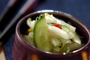 白菜のピリ辛甘酢和え