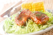 鶏肉のケチャップ焼き