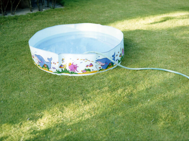 Nine swimming pools and broken i phone for Broken swimming pool