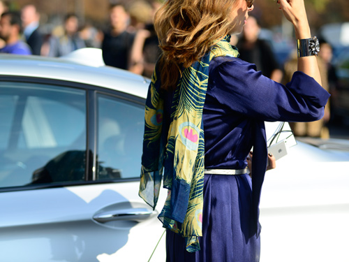 パリにみる、ファッションルックの競演(3)