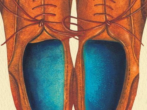 地面数センチの目線で描いた時代小説「至高の靴職人」