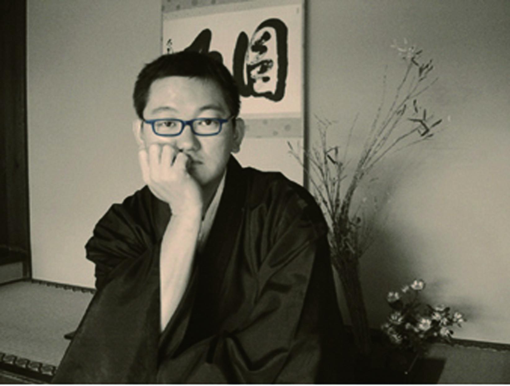 僧侶でイラストレーターの中川学さん。