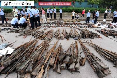 写真] 中国は<b>銃</b>大国?!五輪前に取り締まりで<b>軍用銃</b>など6万9000丁を <b>...</b>