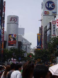 東京・渋谷の雑踏
