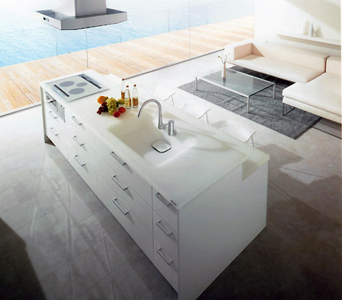 透明感と光を放つ、TOTOのキッチン|ウーマンエキサイト ...