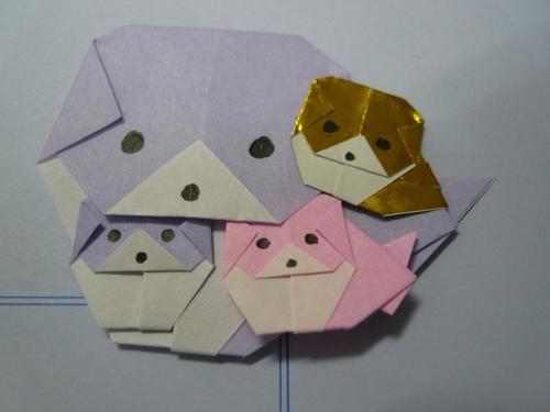 ハート 折り紙:折り紙ケーキの折り方-divulgando.net