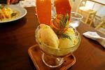 林檎のパフェ ニコラ@三軒茶屋