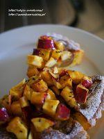 お芋と和栗のタルトレット。