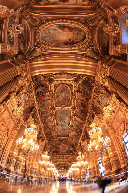 超豪華なパリのオペラ座!