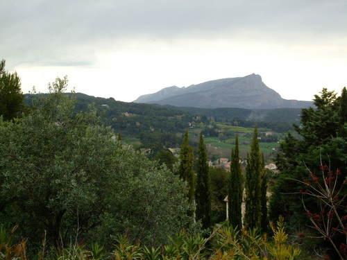 セザンヌのアトリエとレ・ローヴの丘@フランス