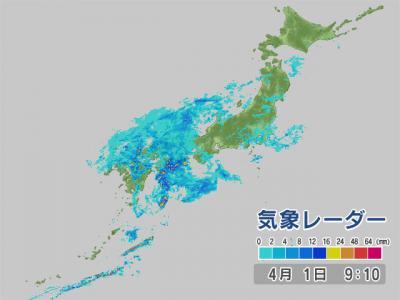 気象レーダー