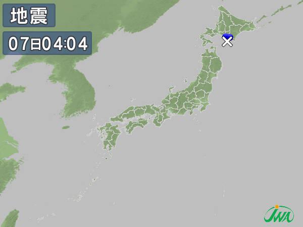 日本全国の地震